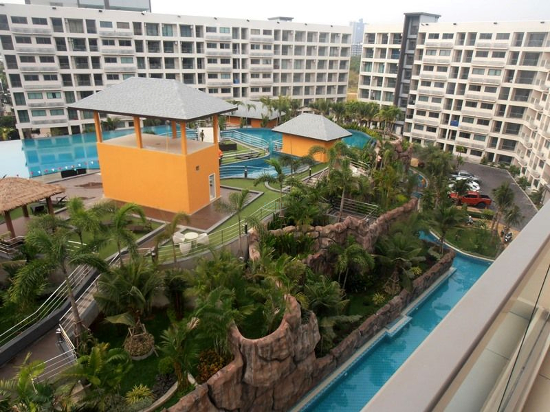 laguna beach 3 the maldives condominium for rent in jomtien  til leie I Jomtien Pattaya