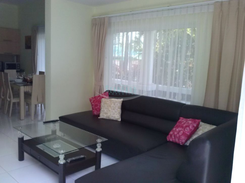stylish two bedroom condo at jomtien dongtan beach to rent in Jomtien Pattaya