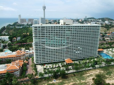 one bedroom condo for rent in city garden wongamart! to rent in Wong Amat Pattaya
