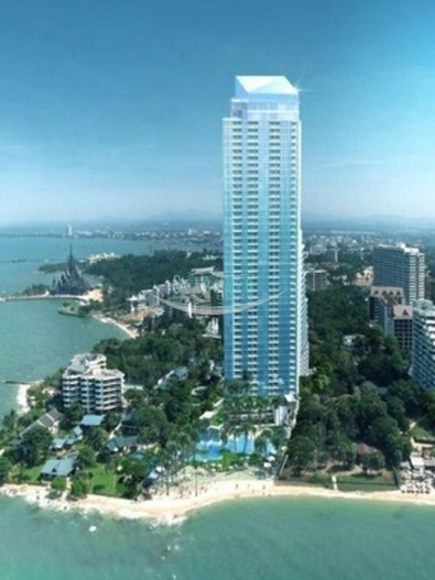 the palm condominium for sale in wongamat beach   for sale in Wong Amat Pattaya