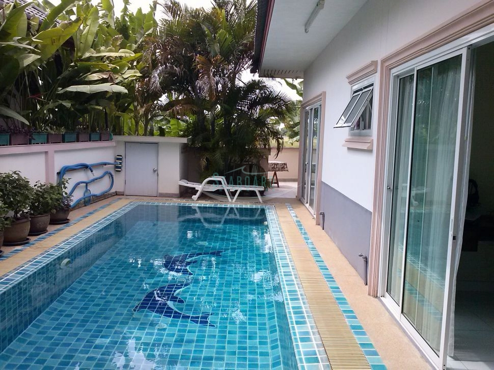 baan dusit house with pool for sale and for rent in huay yai    to rent in Huay Yai Pattaya