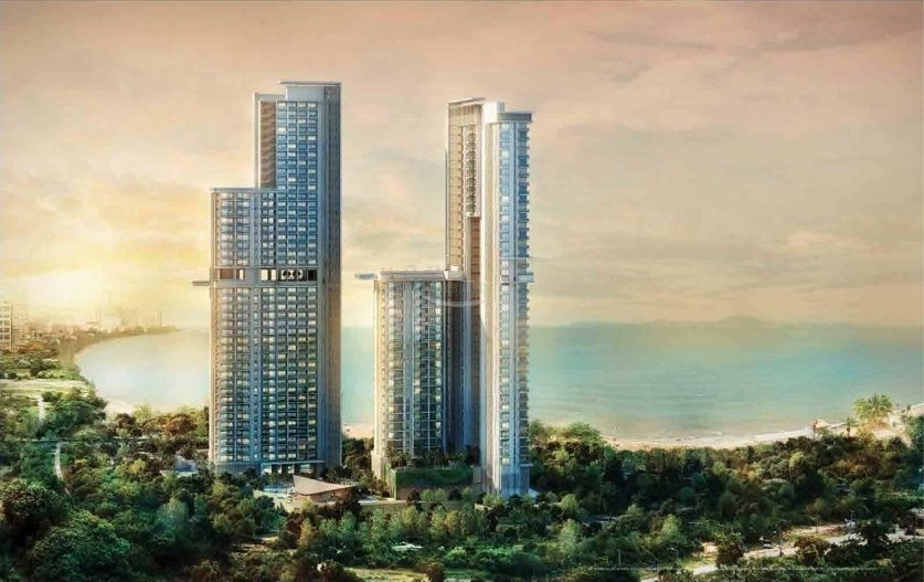 Seaboard Properties Co. Ltd. the riviera condominium for sale in wongamat beach  for sale in Wong Amat Pattaya