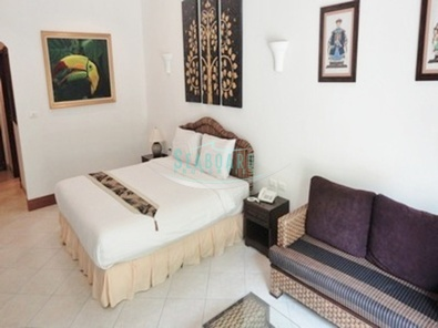 king size bed view talay residence6 condominium for sale and rent in wongamat beach