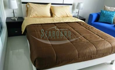 queen size bed novana residence condominium