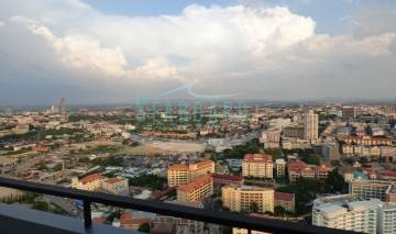city view from toproof centric sea condominium new project one bedroom for rent sale