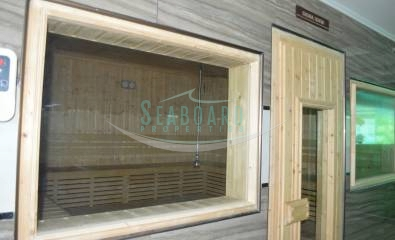 steam room sauna room cosy beach view condominium for rent and sale in pratumnak hill
