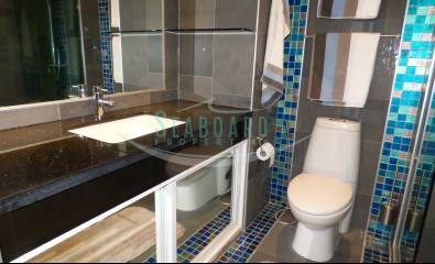 bathroom condominium modern studio apartment pattaya