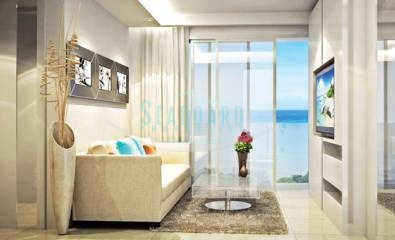 living room Serenity Wongamat Condominium For Sale in Wongamat Beach By Seaboard Properties Pattaya