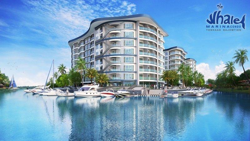 whale marina condominium for sale in na jomtien for sale in Na Jomtien Pattaya