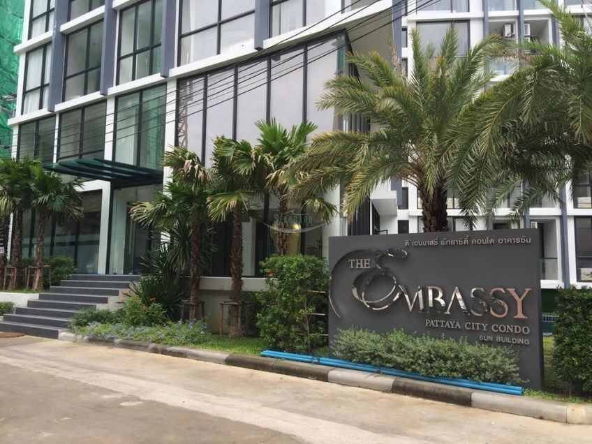 the embassy condominium for sale and for rent in pattaya city  販売 で セントラルパタヤ パタヤ